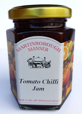 Martinborough Manner - Tomato & Chilli Jam (225g)