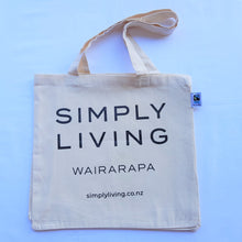 Load image into Gallery viewer, Fairtrade Organic Cotton Tote Bag