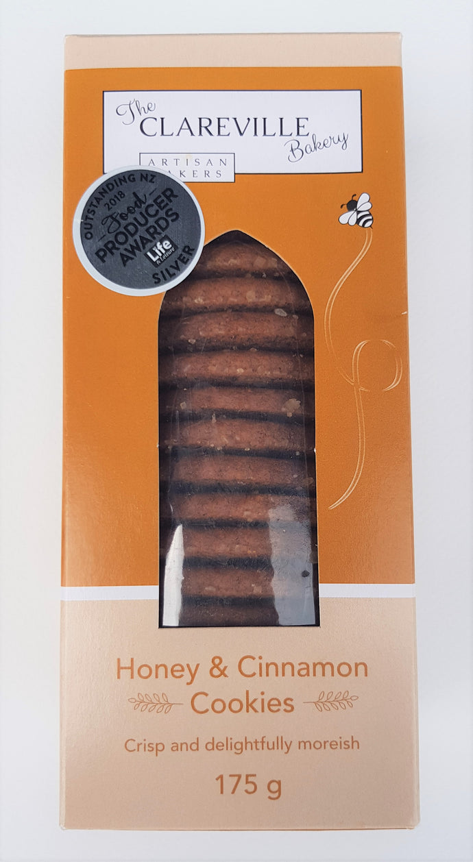 Clareville Bakery Honey and Cinnamon Cookies (175g)