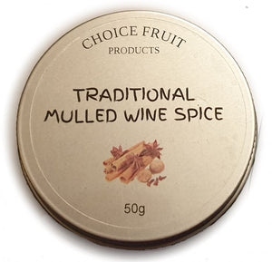 Choice Fruits - Mulled Wine Mix (50g)
