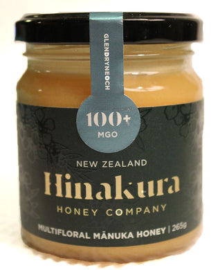 Hinakura Honey - Glendryneoch 100+ MGO Multifloral Manuka Honey Creamed (265g)
