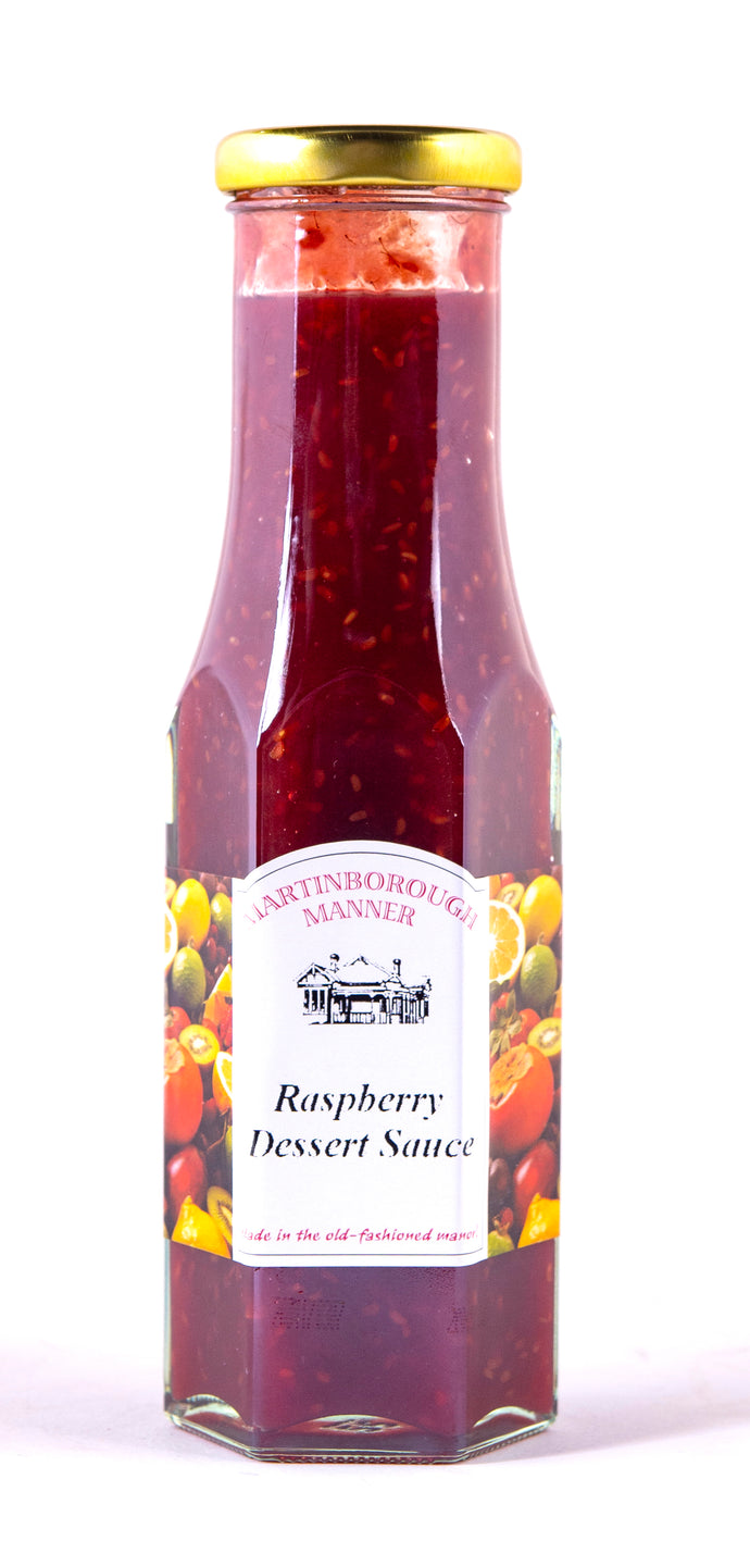 Martinborough Manner - Deluxe Raspberry Sauce (285g)