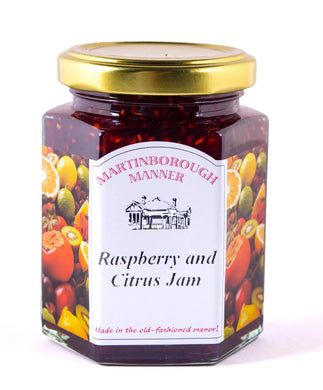 Martinborough Manner - Raspberry & Citrus Jam (255g)