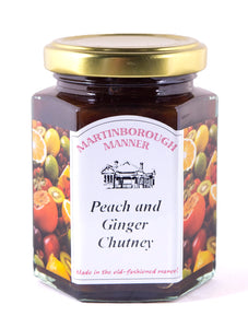 Martinborough Manner - Peach and Ginger Chutney (230g)