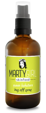 Marty Girl - Queen Kahutara Bug Off Spray - Lemongrass & Tea Tree Oil 100ml