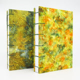 Maple Leaves Ecoprinted Journal or Sketchbook