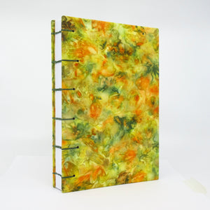 Bouquet-of-the-Day Ecoprinted Journal or Sketchbook