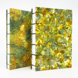 Fall Flowers Ecoprinted Journal or Sketchbook