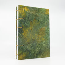 Load image into Gallery viewer, Blue Maple Ecoprinted Journal or Sketchbook