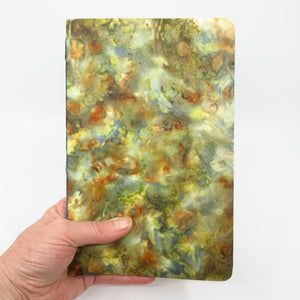 Snapdragon Salsa Ecoprinted Notebook