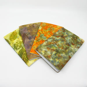 Fall Foliage Ecoprinted Notebook