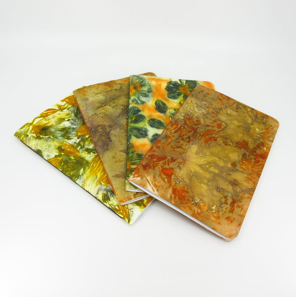 Marvelous Maple Leaves Ecoprinted Notebook