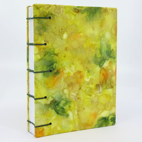 Race-Against-the-Frost Pocket Ecoprinted Journal or Sketchbook