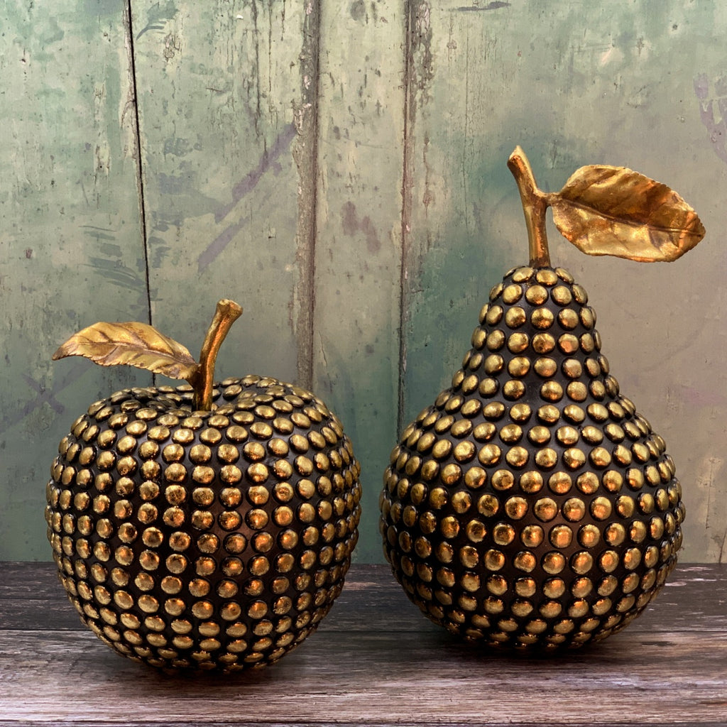 Gold Studded Apple