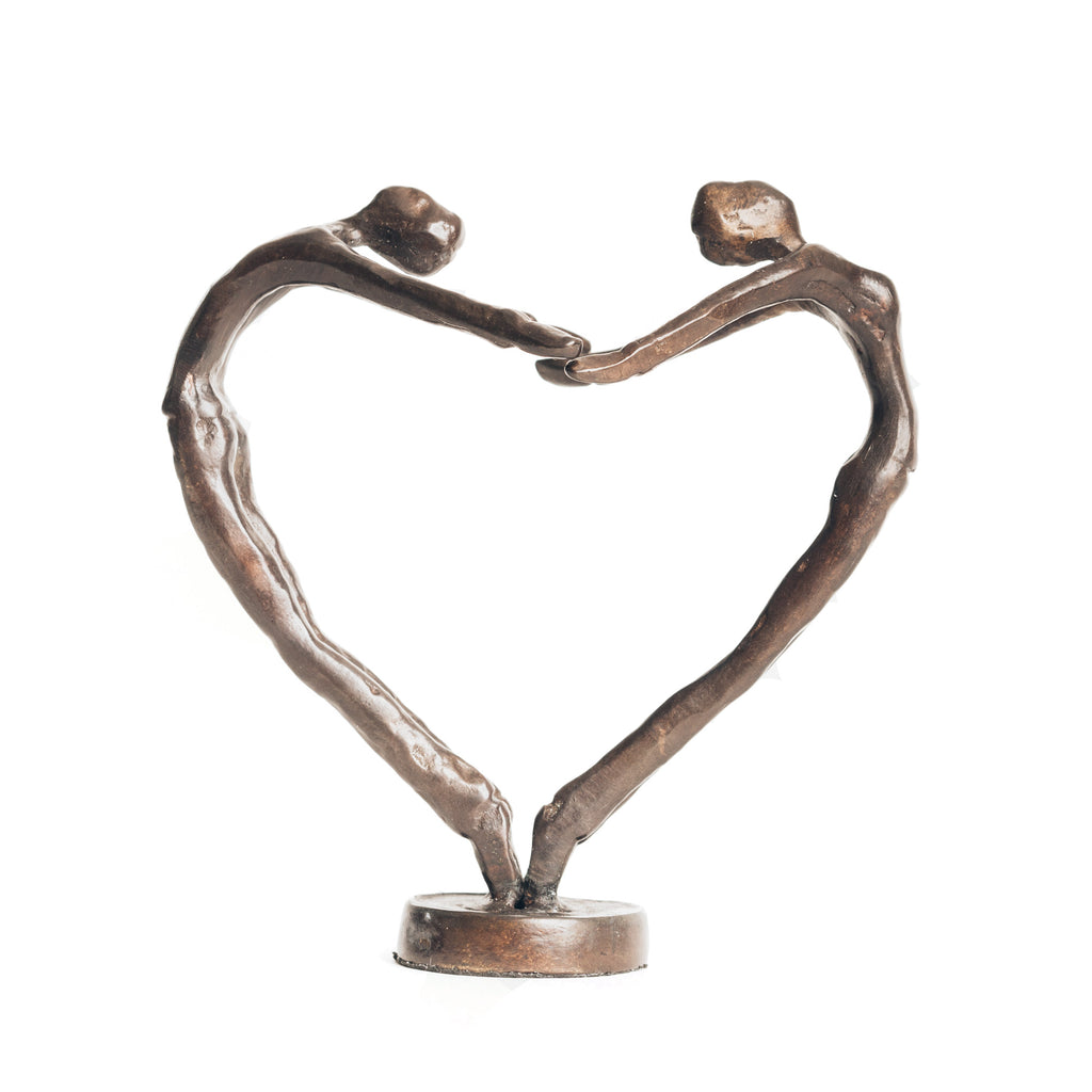 Solid Bronze Sculpture - Heartdance