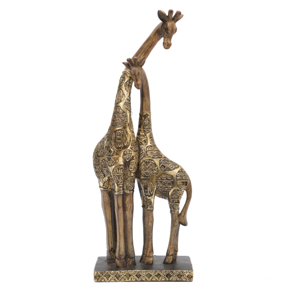 Aztec Art Giraffe Figurines