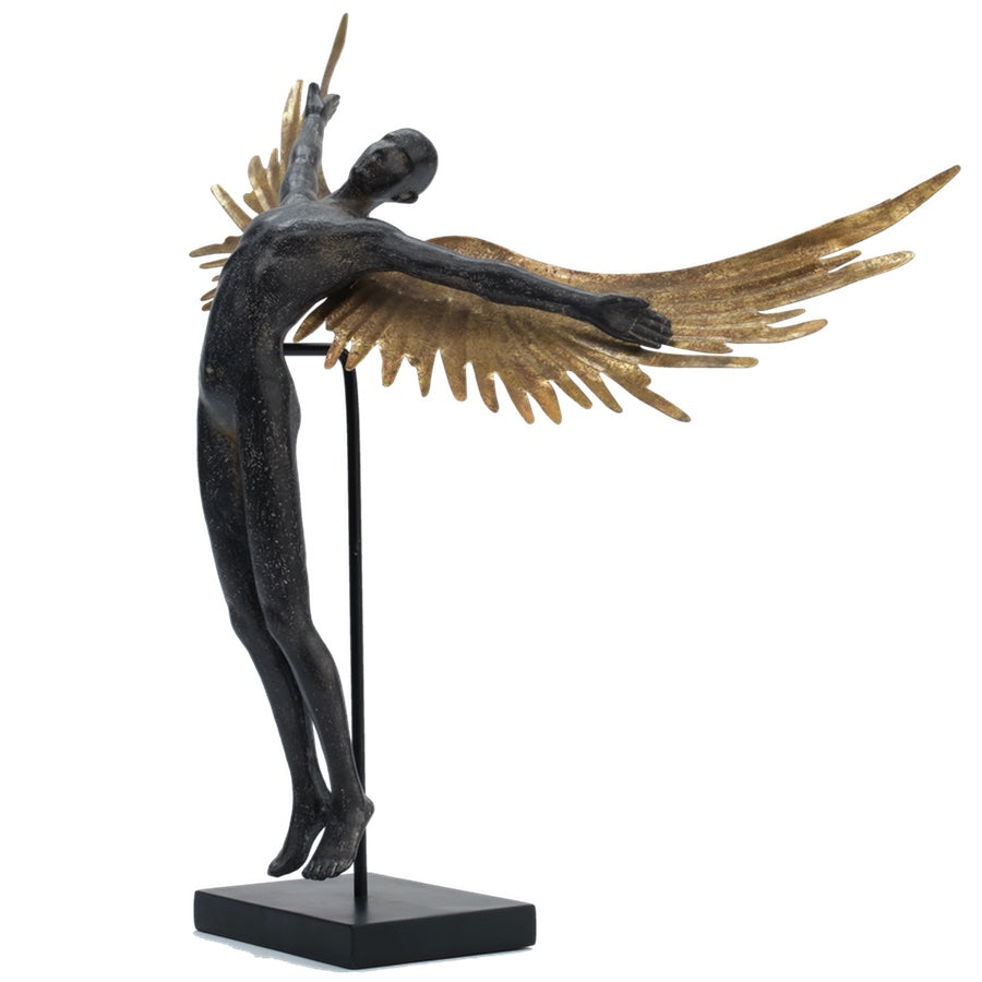 Icarus - Male figurine with Wings