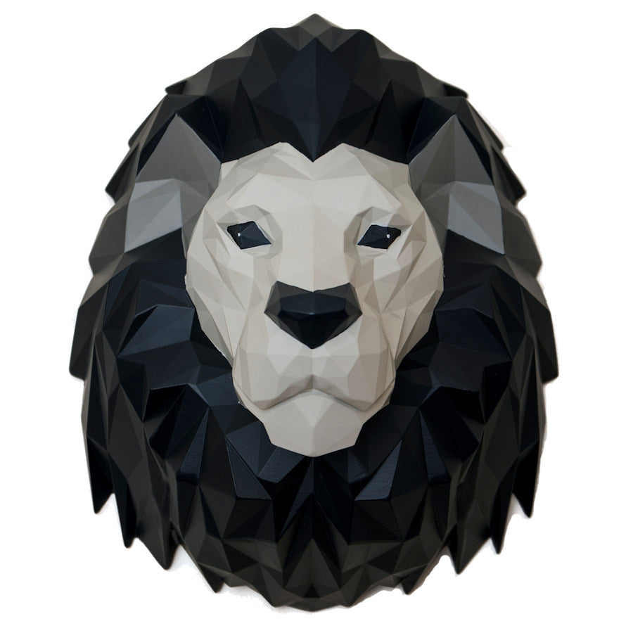Origami Lion Head