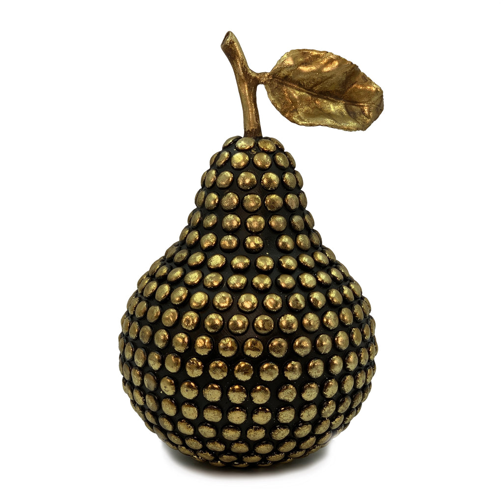 Gold Studded Pear