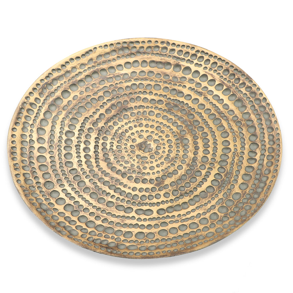 Gold Bowl/Plate - Medium