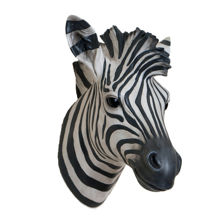 Zebra Head Wall Hanging