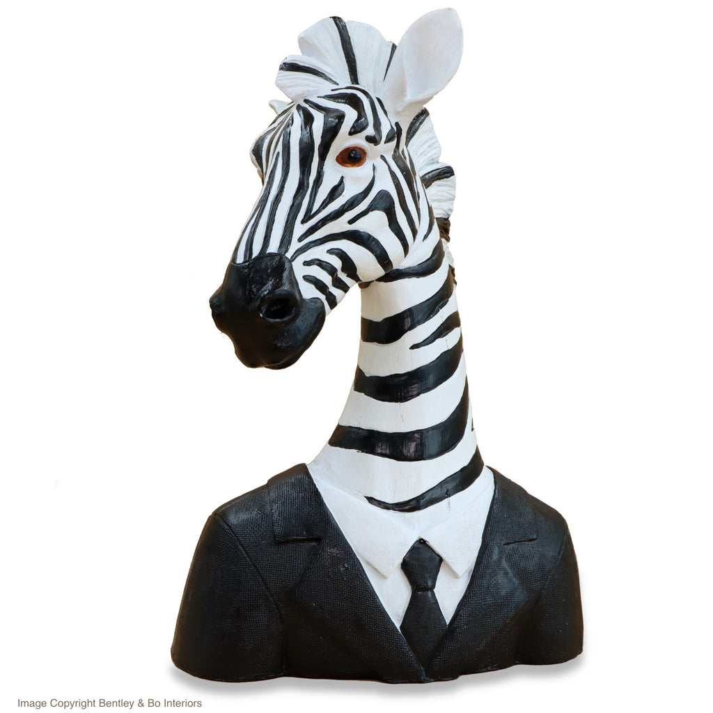 Suited Up! Zebra in a Suit