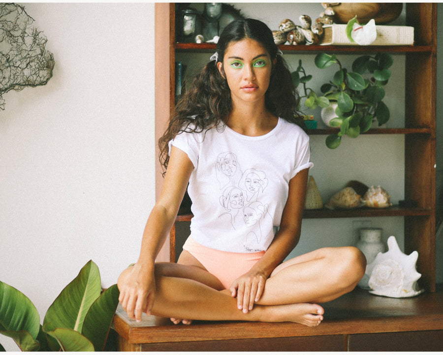 """THE WAHINE"" TEE - Margaret Rice Studio"