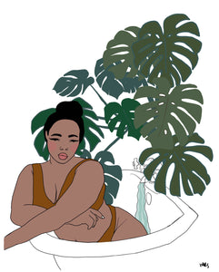 """Bathing Beauty"" - Margaret Rice Studio"