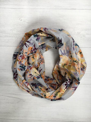 Water Color Infinity Scarf