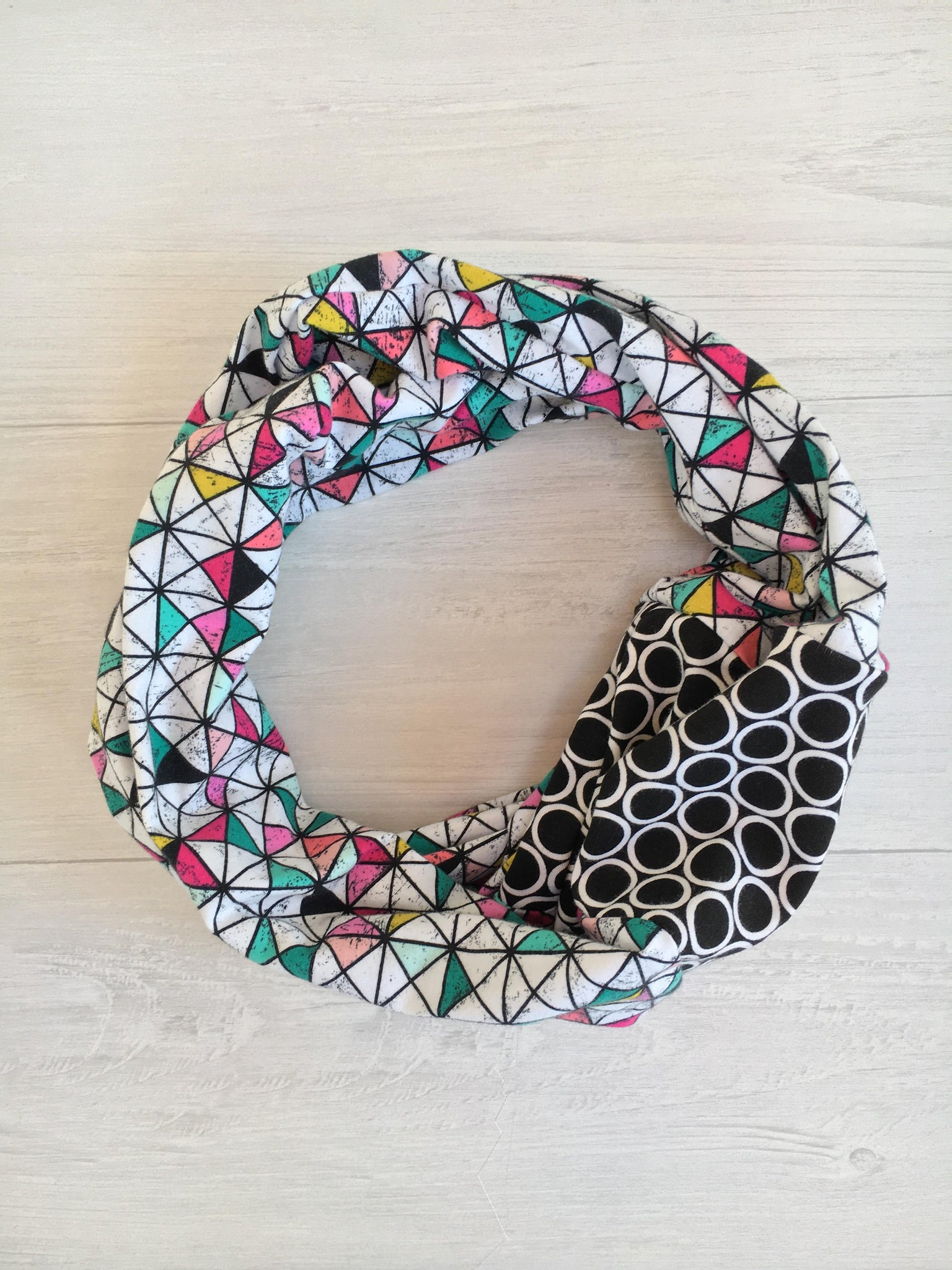 Grid Infinity Scarf