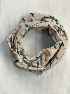 Feathers Infinity Scarf