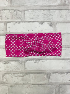 Pixie Pink Faux Knot HeadBand