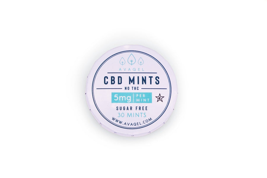 Kosher CBD Mint Candies - Avaqel Kosher Organic CBD