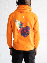 "Load image into Gallery viewer, ""Rogue Wolves"" - ORANGE - Hoodie"