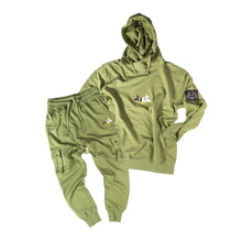 "Load image into Gallery viewer, Hybrid Garbs ""Gen 3""  - Olive - Tracksuit Combo Pack"