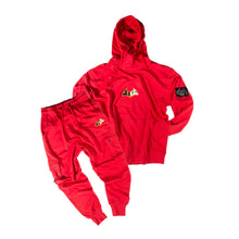 "Load image into Gallery viewer, Hybrid Garbs ""Gen 3""  - Red - Tracksuit Combo Pack"