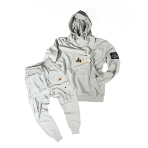 "Hybrid Garbs ""Gen 3""  - Sports Grey - Tracksuit Combo Pack"