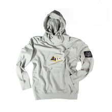 "Load image into Gallery viewer, Hybrid Garbs ""Gen 3""  - Sports Grey - Hoodie"