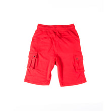 "Load image into Gallery viewer, Hybrid Garbs ""Gen 3""  - Red - Combat Shorts"
