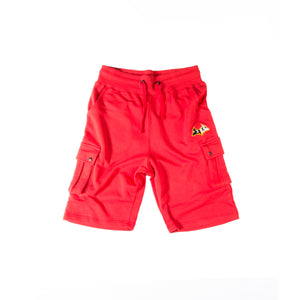 "Hybrid Garbs ""Gen 3""  - Red - Combat Shorts"