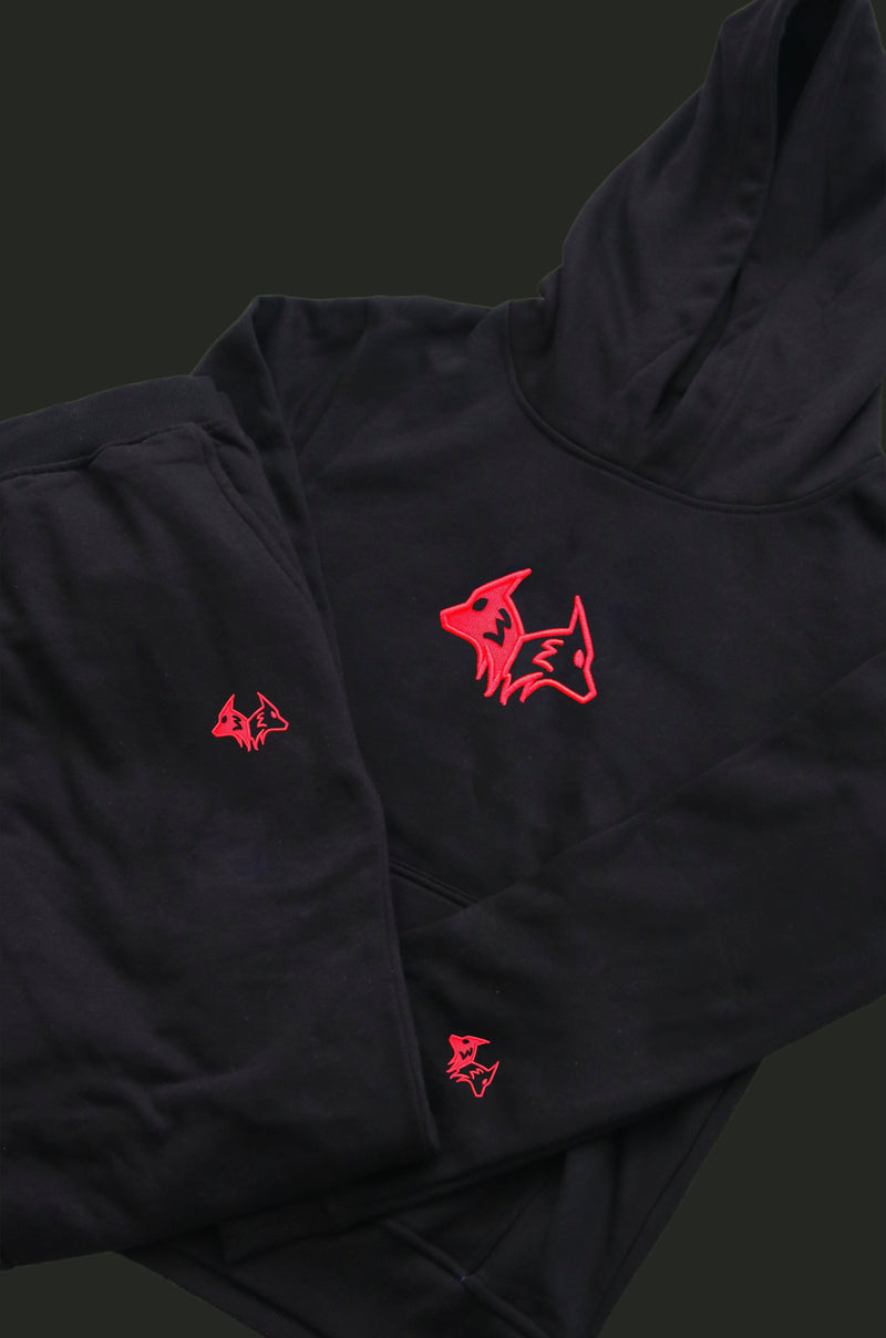 "Red Logo ""YOUTH"" Tracksuit"