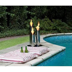 "Bio-Blaze Pipes 23.62"" (Small) Outdoor Bio-Ethanol Fireplace BB-PS"