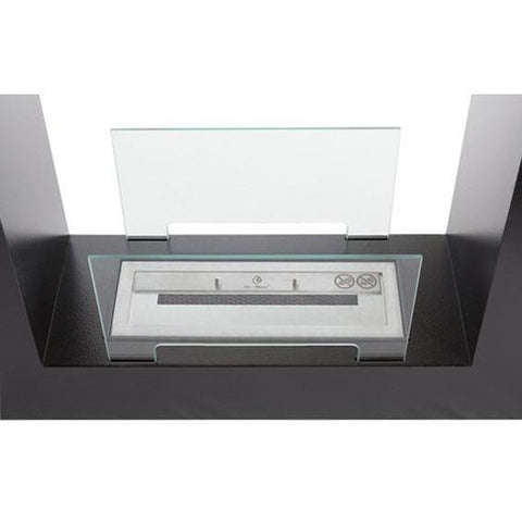 Bio Blaze Qube Small Freestanding Ethanol Fireplace - eFireplaceDirect.com