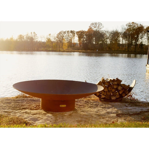 "Fire Pit Art Asia 72"" Outdoor Fire Pit AS72"