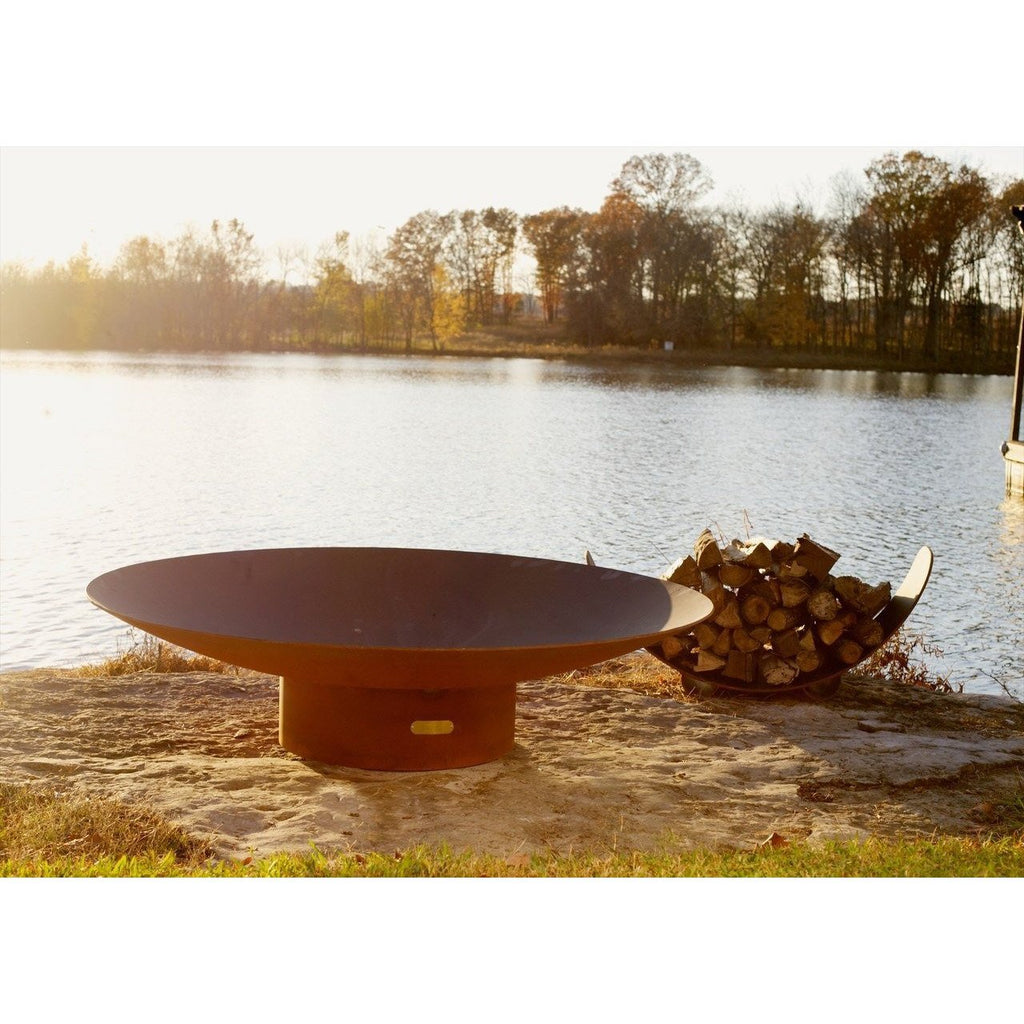 "Fire Pit Art Asia 72"" Outdoor Fireplace Asia-FPA"