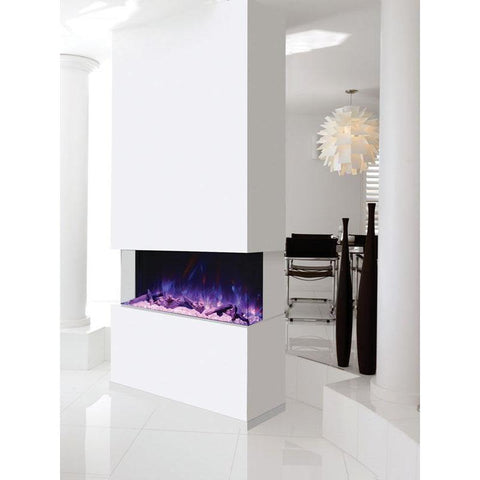 Amantii Tru View 3-Sided Electric Fireplace 50-TRU-VIEW-XL, 50""