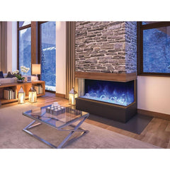 Amantii Tru View 3-Sided Built-In Electric Fireplace 60-TRU-VIEW-XL, 60""