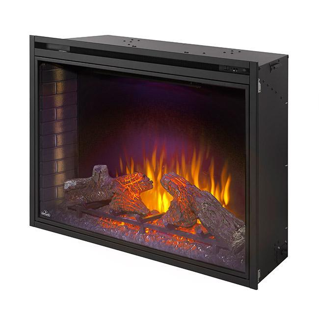 Napoleon Ascent™ Series Dual Voltage Electric Fireplace with Log Bed NEFB33H, 33""