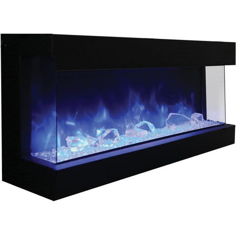 Amantii Tru-View-XL Series-60-TRU-VIEW-XL-Built-In Electric Fireplaces - eFireplaceDirect.com
