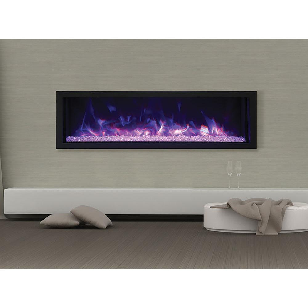 Remii Built-in Series Extra Slim Indoor/Outdoor Electric Fireplace 102755-XS